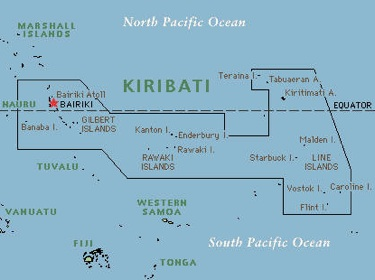 Kiribati Map