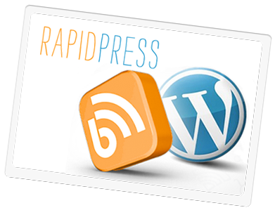 RapidPress | A Custom Domain Name + World Class Hosting + WordPress