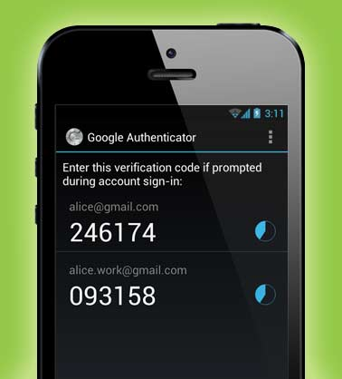 Two-Step Verification Google Authenticator Security
