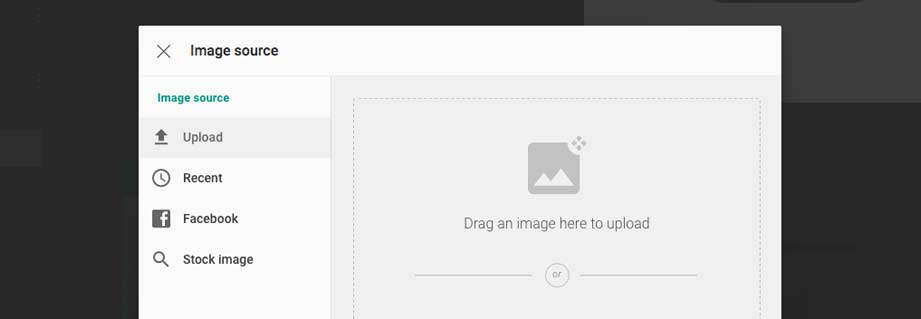 Create Website with Drag and Drop